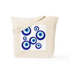 Mod Evil Eyes Tote Bag
