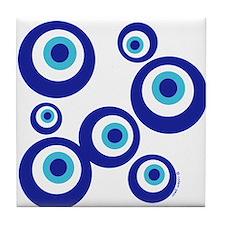 Mod Evil Eyes Tile Coaster