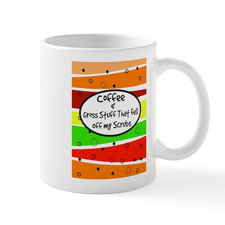 Coffee and gross stuff.PNG Mug