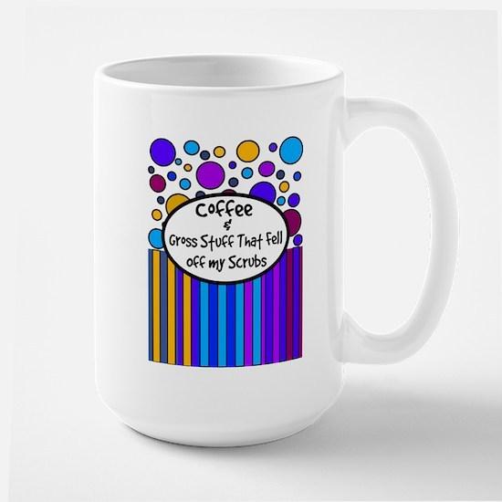 coffee and gross stuff 5.PNG Large Mug