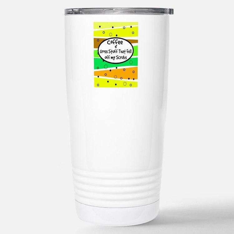 coffee and gross stuff 2.PNG Travel Mug