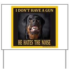 My Dog Yard Sign