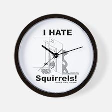 Squirrel Guillotine Wall Clock