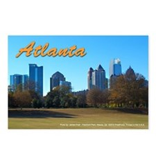 Atlanta Skyline (Postcards - Package of 8)