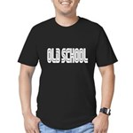 Old School video game Men's Fitted T-Shirt (dark)