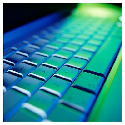 Computer keyboard Poster