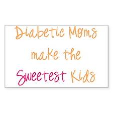 Cute Diabetic Decal