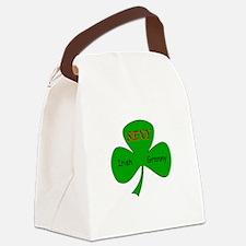 Sexy Irish Granny Canvas Lunch Bag