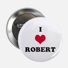 I Love Robert Button