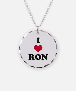I Love Ron Necklace