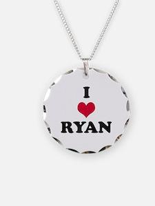 I Love Ryan Necklace