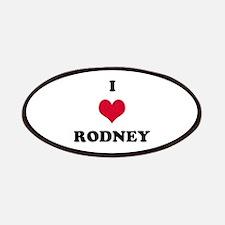 I Love Rodney Patch