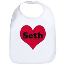 Seth Leather Heart Bib