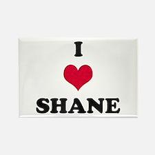 I Love Shane Rectangle Magnet