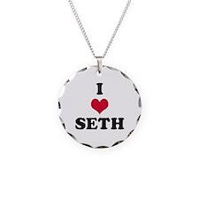 I Love Seth Necklace