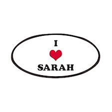 I Love Sarah Patch