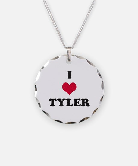 I Love Tyler Necklace