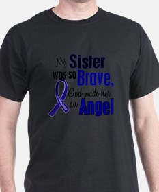 Angel 1 SISTER Colon Cancer T-Shirt