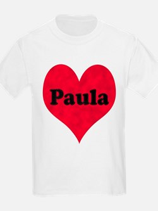 Paula Leather Heart T-Shirt