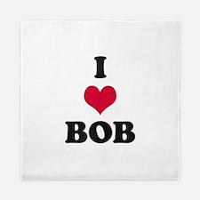I Love Bob Queen Duvet