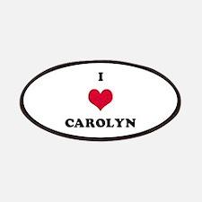 I Love Carolyn Patch