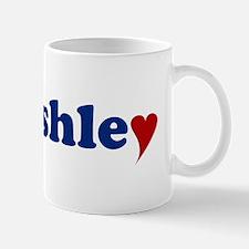 Ashley with Heart Mug