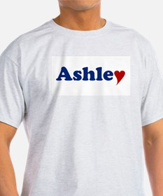 Ashley with Heart T-Shirt