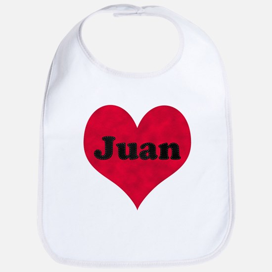 Juan Leather Heart Bib