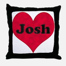 Josh Loves Me Throw Pillow