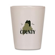 Im from The County Shot Glass