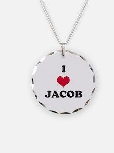 I Love Jacob Necklace