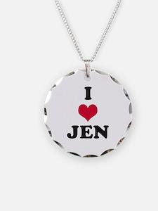I Love Jen Necklace