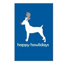 "Toy Fox Terrier ""Happy Howlid Postcards (Package o"