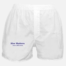 Size Matters Home Theater Boxer Shorts