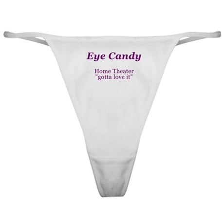 Eye Candy Home Theater Classic Thong