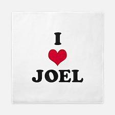 I Love Joel Queen Duvet