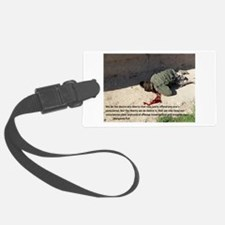 Fell on Afghan boy murder Luggage Tag