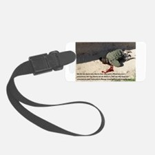 Fell on Afghan boy murder Luggage Tag
