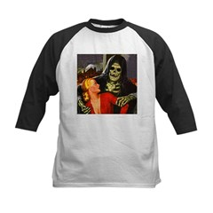 Ghoul Friend Kids Baseball Jersey