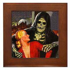 Ghoul Friend Framed Tile