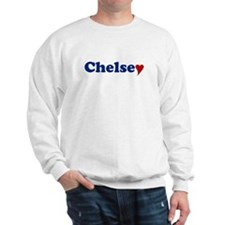 Chelsey with Heart Sweater