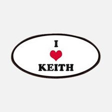 I Love Keith Patch