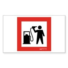 No Oil Dependence Rectangle Decal