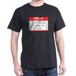 Big Jingleheimer Name Tag Dark T-Shirt