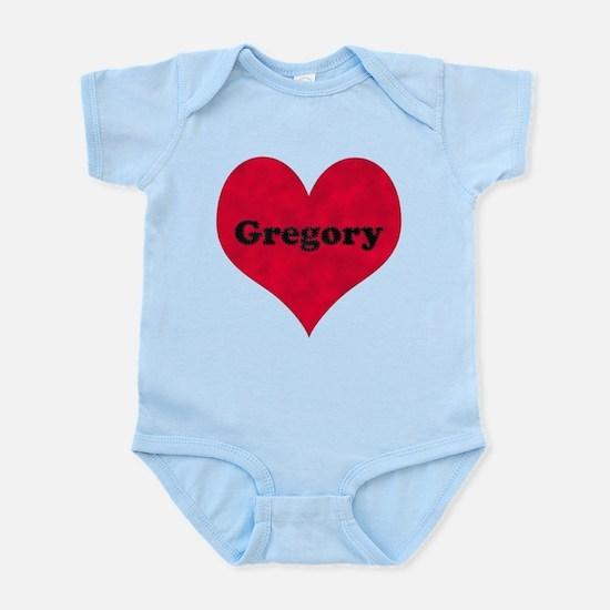 Gregory Leather Heart Infant Bodysuit