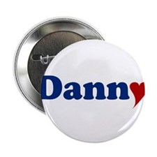 "Danny with Heart 2.25"" Button"