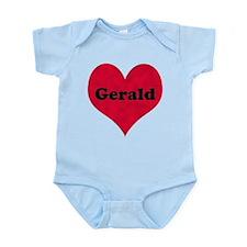 Gerald Leather Heart Onesie