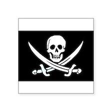 Jolly Roger Rectangle Sticker