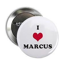 I Love Marcus Button
