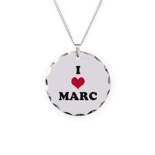 I Love Marc Necklace